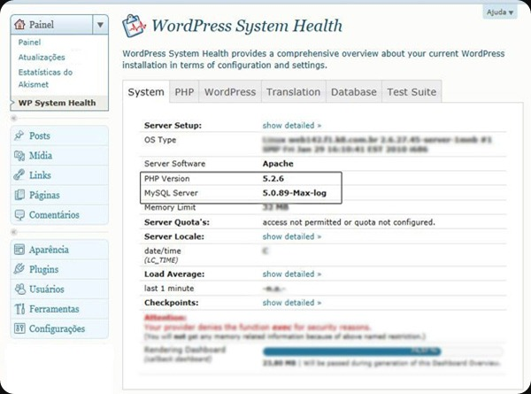 WP-System-Health