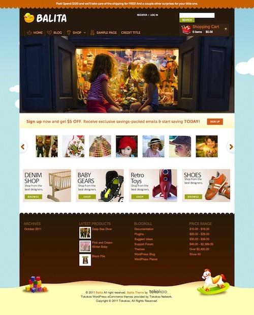 WordPress: Tema gratuito para loja infantil | Dicas do Fábio